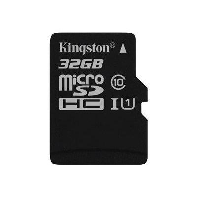 Kingston 32Gb Micro SD card. Deze geheugenkaart heeft een grote capaciteit en voldoet aan de SD Association Specification-vereisten waaraan Class 10 moet beantwoorden. De kaart kan perfect gebruikt worden om beelden op te slaan van Hikvision camera'...