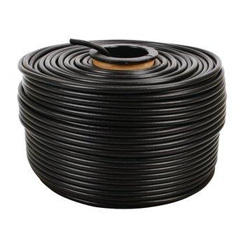 FTP cable CAT 5e para uso al aire libre en el rodillo 100 m. Este cable CAT5e incluye conductores blindados, y está diseñado para uso en exteriores. Está equipado con una estable, revestimiento de PE resistente al desgarro UV. El cable es especialmente ad