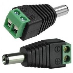 Stromanschluss dienenden Strom Male oder videobalun mehrere Wölbungen, die keine Standardnetzstecker / Netzanschluss verfügbar ist.