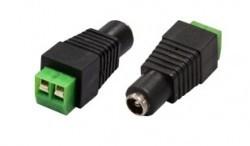 Stromanschluss Female dienen Macht oder videobalun, mehr Kuppel, die kein Standard-Netzstecker / Netzanschluss verfügbar ist.