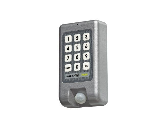 The Mobeye Argos guards your property wherever you are. A matter of depositing and enabling with your user code. Never before was security so easy. All-in-one GSM alarm system with built-in motion detector, temperature sensor and GS ...