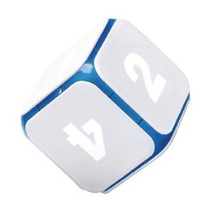 DICE+ Bluetooth Interactive Dobbelsteen DICE+ World of Games Wit / Blauw
