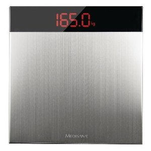 Medisana Digitale Personenweegschaal 200 kg Zilver / Zwart