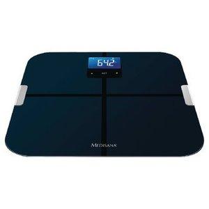 Medisana BMI Personenweegschaal Bluetooth 4.0 180 kg Zwart