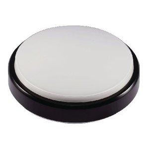 LED's Light LED Wandlamp voor Buiten 8 W 500 lm Zwart / Wit