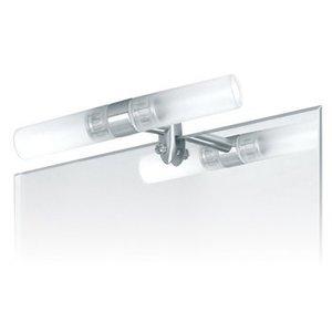 Ranex Spiegellamp Geborsteld Staal