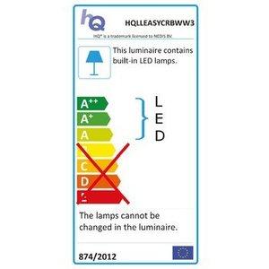 HQ Lineaire Lichtstrip LED Niet-Flexibel Eenvoudig te Koppelen 30 cm Warm Wit