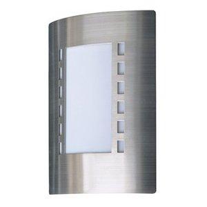 Ranex Wandlamp Buiten 60 W Geborsteld Staal