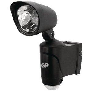 GP LED WandLamp voor Buiten met Sensor 135 lm Zwart