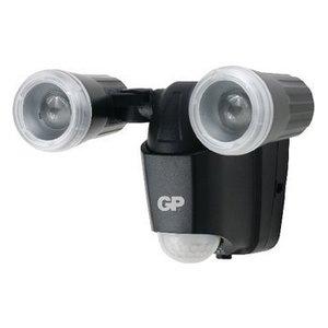 GP LED WandLamp voor Buiten met Sensor 100 lm Zwart