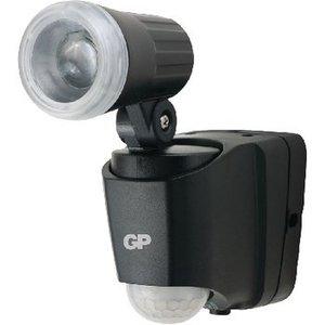 GP LED WandLamp voor Buiten met Sensor 50 lm Zwart