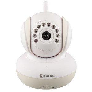 König Babyfoon Audio/Video 2.4 GHz Wit / Grijs