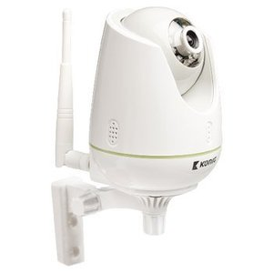 König IP Camera Babyfoon Audio/Video 2.4 GHz Wit / Grijs