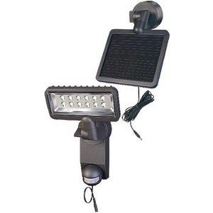 Brennenstuhl Solar Wandlamp 12 LED Zwart