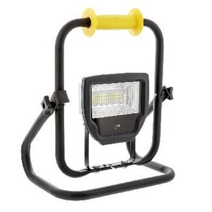 König Mobiele LED Floodlight 30 W 2300 lm Zwart