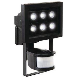 Ranex LED Floodlight met Sensor 8.8 W 210 lm Zwart