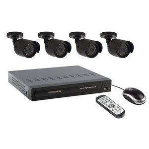 Valueline CCTV Set HDD 500 GB / 420 TVL - 4x Camera