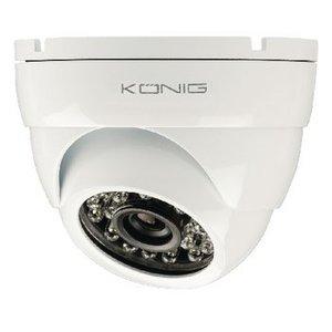 König Dome Beveiligingscamera 700 TVL Wit