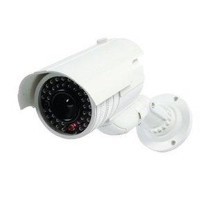 König Bullet Dummy Camera IP65 Wit