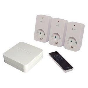 DI-O Smart Home Energiecontroleset - Schuko / Type F (CEE 7/7)