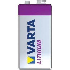 Varta Lithium Batterij 9V 9 V 1-Blister