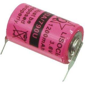 HQ Lithium Thionylchloride Batterij ER14250 3.6 V 1200 mAh 1-Blister