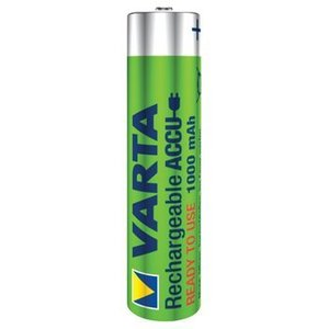 Varta Oplaadbare NiMH Batterij AAA 1.2 V 1000 mAh 4-Blister