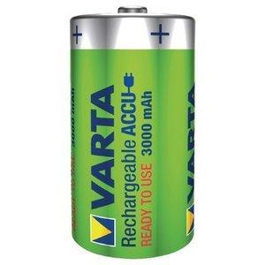 Varta Oplaadbare NiMH Batterij D 1.2 V 3000 mAh 2-Blister