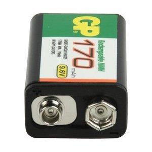 GP Oplaadbare NiMH Batterij E-Block 9.6 V Industrial 170 mAh 1-Polybag