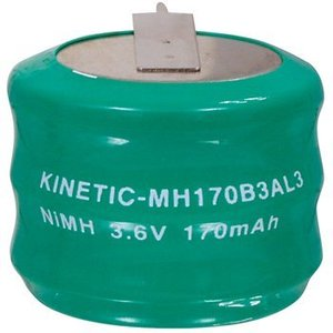 Kinetic Oplaadbare NiMH Batterij Pack 3.6 V 170 mAh 1-Pack