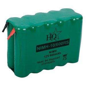HQ Oplaadbare NiMH Batterij Pack 12 V 600 mAh 1-Pack