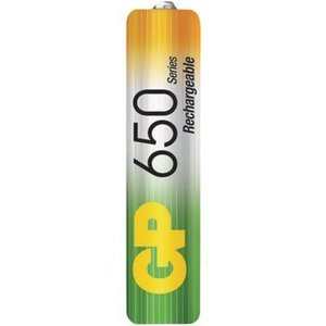 GP Oplaadbare NiMH Batterij AAA 1.2 V 650 mAh 2-Blister