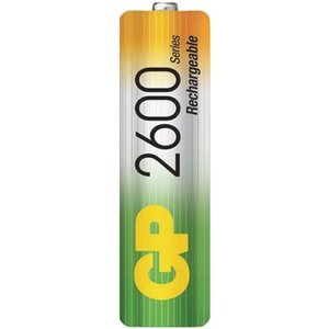 GP Oplaadbare NiMH Batterij AA 1.2 V 2600 mAh 4-Blister