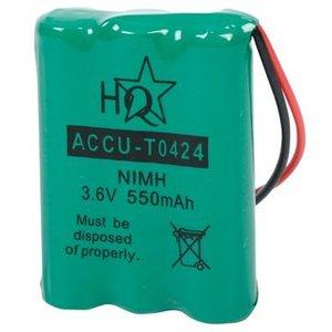 HQ Oplaadbare NiMH Batterij Pack 3.6 V 550 mAh 1-Blister
