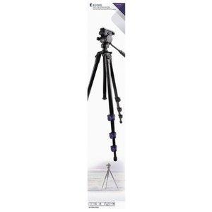 König Premium Camera/Video Statief Pan & Tilt 161 cm Zwart