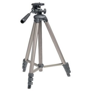 König Camera/Video Statief Pan & Tilt 134 cm Zwart / Zilver