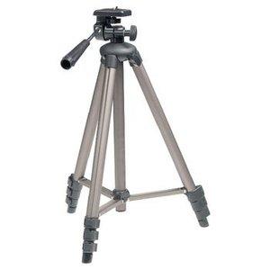 König Camera/Video Statief Pan & Tilt 130 cm Zwart / Zilver