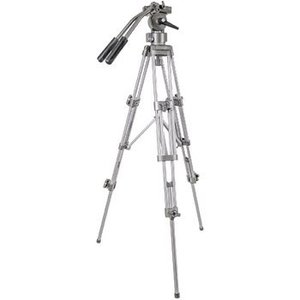 König Video Statief Pan & Tilt 137 cm Zwart / Zilver