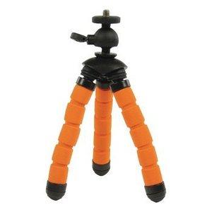 Camlink Flexibel Statief 13 cm 1 kg Zwart / Oranje