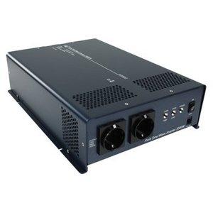 HQ Pure Sinus Omvormer 24 VDC AC 230 V 2000 W F (CEE 7/3)