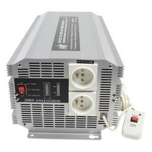 HQ Gemodificeerde Sinus Omvormer 24 VDC - AC 230 V 2500 W Frans