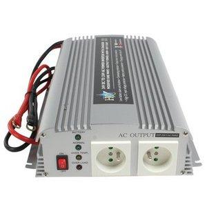 HQ Gemodificeerde Sinus Omvormer 24 VDC - AC 230 V 1000 W F (CEE 7/3)