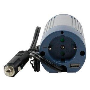 HQ Gemodificeerde Sinus Omvormer 12 VDC - AC 230 V 100 W F (CEE 7/3) / USB