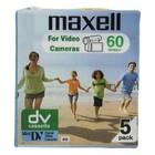 Maxell DVC Videoband 60-Minute 5 St