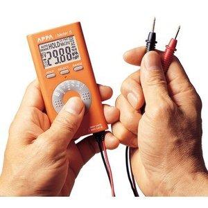Appa Digitale multimeter 4000 Cijfers 600 VAC 600 VDC 0.004 ADC