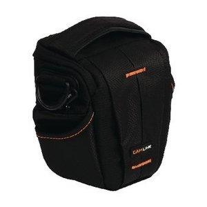 Camlink Camera Holster Tas 128 x 133 x 70 mm Zwart / Oranje
