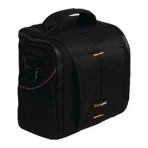 Camlink Camera Schoudertas 220 x 190 x 120 mm Zwart / Oranje