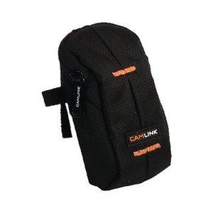 Camlink Camera Compact Tas 60 x 100 x 30 mm Zwart / Oranje