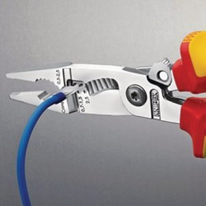 Knipex Electricians Pliers with Cable Cutter VDE