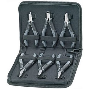 Knipex Set of electronics pliers